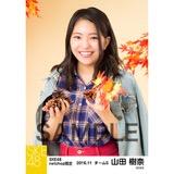 SKE48 2016年11月度 net shop限定個別生写真「秋の行楽」5枚セット 山田樹奈