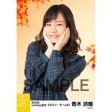 SKE48 2016年11月度 net shop限定個別生写真「秋の行楽」5枚セット 青木詩織