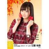 SKE48 2016年11月度 net shop限定個別生写真「秋の行楽」5枚セット 江籠裕奈