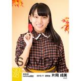 SKE48 2016年11月度 net shop限定個別生写真「秋の行楽」5枚セット 片岡成美