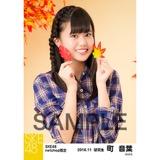 SKE48 2016年11月度 net shop限定個別生写真「秋の行楽」5枚セット 町音葉