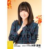 SKE48 2016年11月度 net shop限定個別生写真「秋の行楽」5枚セット 水野愛理
