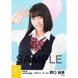 SKE48 2016年11月度 net shop限定個別生写真「学園祭」5枚セット 野口由芽