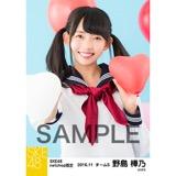 SKE48 2016年11月度 net shop限定個別生写真「学園祭」5枚セット 野島樺乃