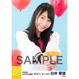 SKE48 2016年11月度 net shop限定個別生写真「学園祭」5枚セット 白井琴望