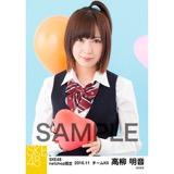 SKE48 2016年11月度 net shop限定個別生写真「学園祭」5枚セット 高柳明音
