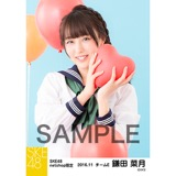 SKE48 2016年11月度 net shop限定個別生写真「学園祭」5枚セット 鎌田菜月