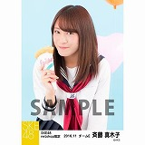 SKE48 2016年11月度 net shop限定個別生写真「学園祭」5枚セット 斉藤真木子