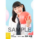 SKE48 2016年11月度 net shop限定個別生写真「学園祭」5枚セット 浅井裕華