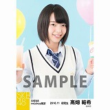 SKE48 2016年11月度 net shop限定個別生写真「学園祭」5枚セット 髙畑結希