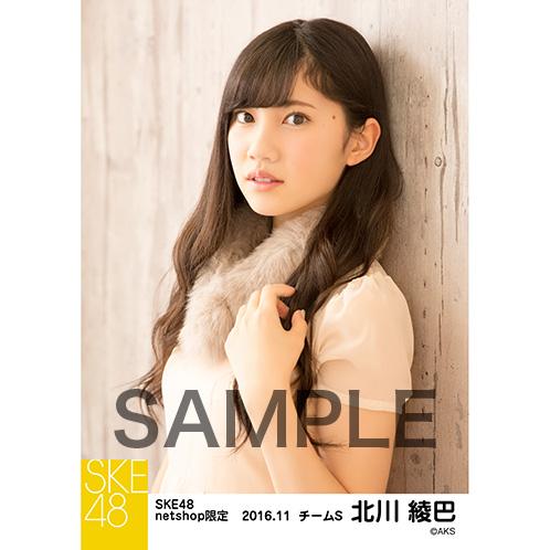 SKE48 2016年11月度 net shop限定個別ランダム生写真5枚セット 北川綾巴