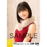 SKE48 2016年11月度 net shop限定個別ランダム生写真5枚セット 北野瑠華