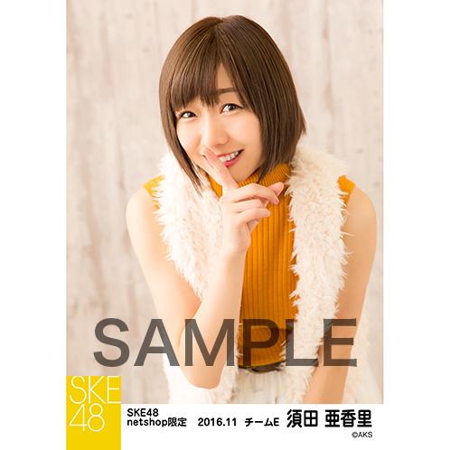 SKE48 2016年11月度 net shop限定個別ランダム生写真5枚セット 須田亜香里