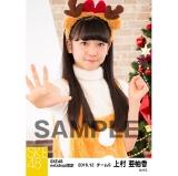 SKE48 2016年12月度 net shop限定個別生写真「クリスマス」5枚セット 上村亜柚香