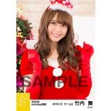 SKE48 2016年12月度 net shop限定個別生写真「クリスマス」5枚セット 竹内舞