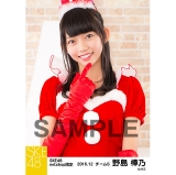 SKE48 2016年12月度 net shop限定個別生写真「クリスマス」5枚セット 野島樺乃