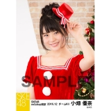 SKE48 2016年12月度 net shop限定個別生写真「クリスマス」5枚セット 小畑優奈