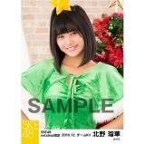 SKE48 2016年12月度 net shop限定個別生写真「クリスマス」5枚セット 北野瑠華