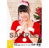 SKE48 2016年12月度 net shop限定個別生写真「クリスマス」5枚セット 白井琴望