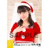 SKE48 2016年12月度 net shop限定個別生写真「クリスマス」5枚セット 竹内彩姫