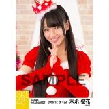SKE48 2016年12月度 net shop限定個別生写真「クリスマス」5枚セット 末永桜花