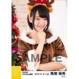 SKE48 2016年12月度 net shop限定個別生写真「クリスマス」5枚セット 髙畑結希