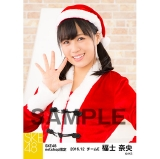 SKE48 2016年12月度 net shop限定個別生写真「クリスマス」5枚セット 福士奈央