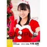 SKE48 2016年12月度 net shop限定個別生写真「クリスマス」5枚セット 片岡成美
