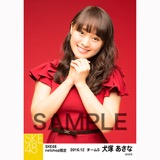 SKE48 2016年12月度 net shop限定個別生写真「クリスマスII」5枚セット 犬塚あさな