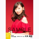 SKE48 2016年12月度 net shop限定個別生写真「クリスマスII」5枚セット 大矢真那