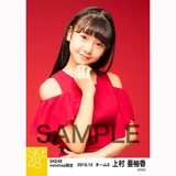 SKE48 2016年12月度 net shop限定個別生写真「クリスマスII」5枚セット 上村亜柚香