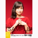 SKE48 2016年12月度 net shop限定個別生写真「クリスマスII」5枚セット 青木詩織
