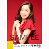 SKE48 2016年12月度 net shop限定個別生写真「クリスマスII」5枚セット 石田安奈