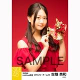 SKE48 2016年12月度 net shop限定個別生写真「クリスマスII」5枚セット 古畑奈和