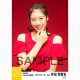 SKE48 2016年12月度 net shop限定個別生写真「クリスマスII」5枚セット 井田玲音名