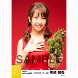 SKE48 2016年12月度 net shop限定個別生写真「クリスマスII」5枚セット 熊崎晴香