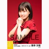 SKE48 2016年12月度 net shop限定個別生写真「クリスマスII」5枚セット 髙寺沙菜