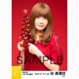SKE48 2016年12月度 net shop限定個別生写真「クリスマスII」5枚セット 谷真理佳