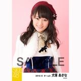 SKE48 2016年12月度 個別生写真「コンサート クリスマス」衣装5枚セット 犬塚あさな