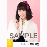SKE48 2016年12月度 個別生写真「コンサート クリスマス」衣装5枚セット 野口由芽
