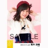 SKE48 2016年12月度 個別生写真「コンサート クリスマス」衣装5枚セット 青木詩織