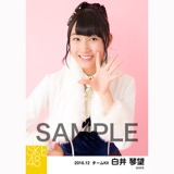 SKE48 2016年12月度 個別生写真「コンサート クリスマス」衣装5枚セット 白井琴望