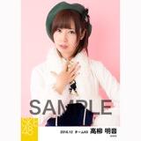 SKE48 2016年12月度 個別生写真「コンサート クリスマス」衣装5枚セット 高柳明音