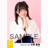 SKE48 2016年12月度 個別生写真「コンサート クリスマス」衣装5枚セット 水野愛理