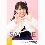 SKE48 2016年12月度 個別生写真「コンサート クリスマス」衣装5枚セット 片岡成美