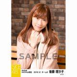 SKE48 2016年12月度 net shop限定個別ランダム生写真5枚セット 後藤理沙子