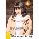 SKE48 2016年12月度 net shop限定個別ランダム生写真5枚セット 野口由芽
