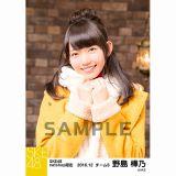 SKE48 2016年12月度 net shop限定個別ランダム生写真5枚セット 野島樺乃