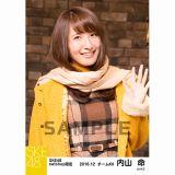 SKE48 2016年12月度 net shop限定個別ランダム生写真5枚セット 内山命