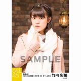 SKE48 2016年12月度 net shop限定個別ランダム生写真5枚セット 竹内彩姫